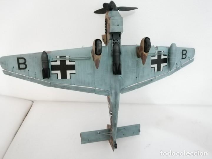 Maquetas: Maqueta 1/24 Junkers Ju 87 Stuka Alemán Segunda Guerra Mundial Perfecto Estado - Foto 8 - 172278992