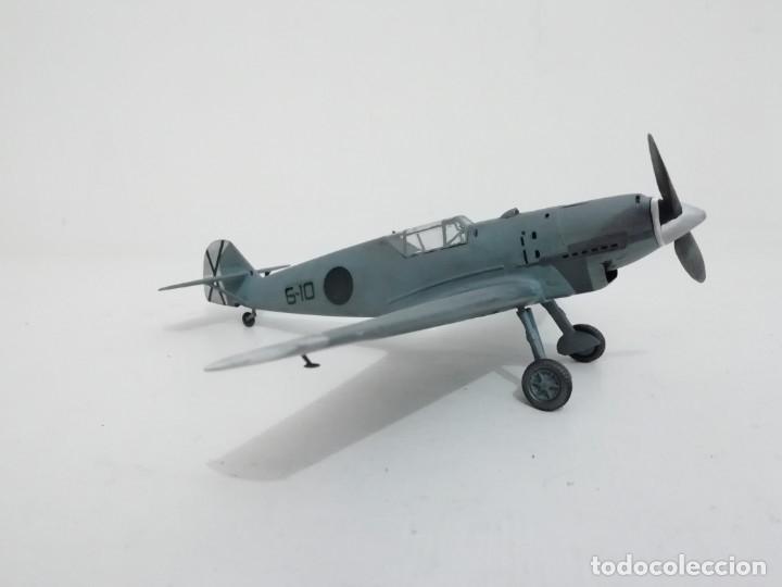 Maquetas: Maqueta 1/48 Messerschmitt 109B Condor Alemán 2ª Guerra Mundial Perfecto Estado - Foto 4 - 172281187