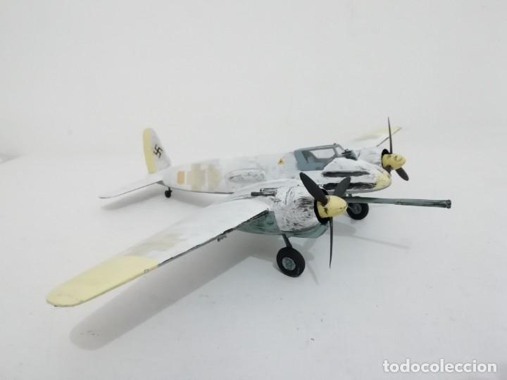 Maquetas: Maqueta 1/48 Henschel Hs 129 Alemán 2ª Guerra Mundial Perfecto Estado - Foto 3 - 172281278