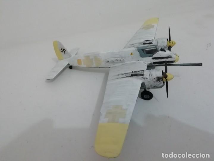 Maquetas: Maqueta 1/48 Henschel Hs 129 Alemán 2ª Guerra Mundial Perfecto Estado - Foto 4 - 172281278