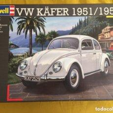 Maquetas: VOLKSWAGEN VW KAFER ( ESCARABAJO ) 1:16 REVELL 07461 MAQUETA COCHE BETTLE. Lote 172422805