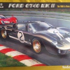 Maquetas: FORD GT40 MK.II 1966 LE MANS 1:12 TRUMPETER 05403 MAQUETA COCHE. Lote 172423930
