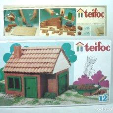 Maquetas: TEIFOC N.12 PRECINTADO¡¡ JUEGO CONSTRUCCION CEMENTO CASA- ALBAÑILERIA LADRILLOS PUERTAS VENTANAS-N12. Lote 172608000