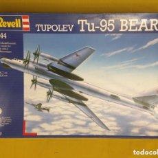 Maquetas: TUPOLEV TU-95 BEAR D 1:144 REVELL 4602 MAQUETA AVIÓN. Lote 172619733