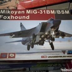 Maquetas: MAQUETA AVIÓN MIKOYAN MIG-31 BM/BSM FOXHOUND. 1:48. Lote 172729360
