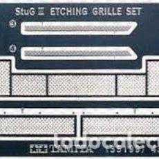Maquetas: TAMIYA - STUMGESCHUTZ III ETCHING GRILLE SET 1/35 35199. Lote 172765179