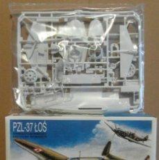 Maquetas: MAQUETA DE AVION BOMBARDERO POLACO WW2 - ZTS PZL-37 LOS 1/72. Lote 172841000