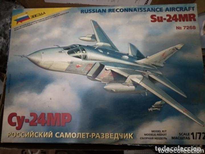 MAQUETA SUKHOI SU-24MR. 1:72. ZVEZDA. (Juguetes - Modelismo y Radio Control - Maquetas - Aviones y Helicópteros)
