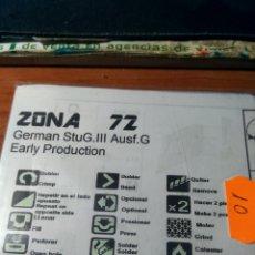 Maquetas: ZONA72 - GERMAN STUG.III AUSF G EARLY PRODUCTION 1/35. Lote 172864980