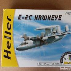 Maquetas: HELLER,MAQUETA E-2C HAWKEYE,ESCALA1/144. Lote 172893775
