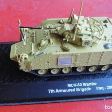 Maquetas: MCV-80 WARRIOR. METAL ALTAYA ESCALA 1/72 + REVISTA. Lote 172920605