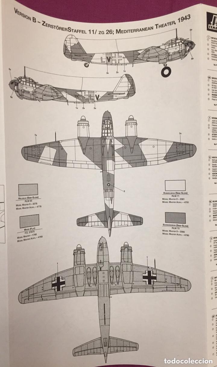 Maquetas: JUNKERS Ju-88 C-6 1:72 ITALERI 1022 maqueta avión Sicilia Ucrania - Foto 2 - 172936215