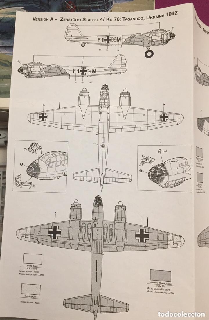 Maquetas: JUNKERS Ju-88 C-6 1:72 ITALERI 1022 maqueta avión Sicilia Ucrania - Foto 3 - 172936215