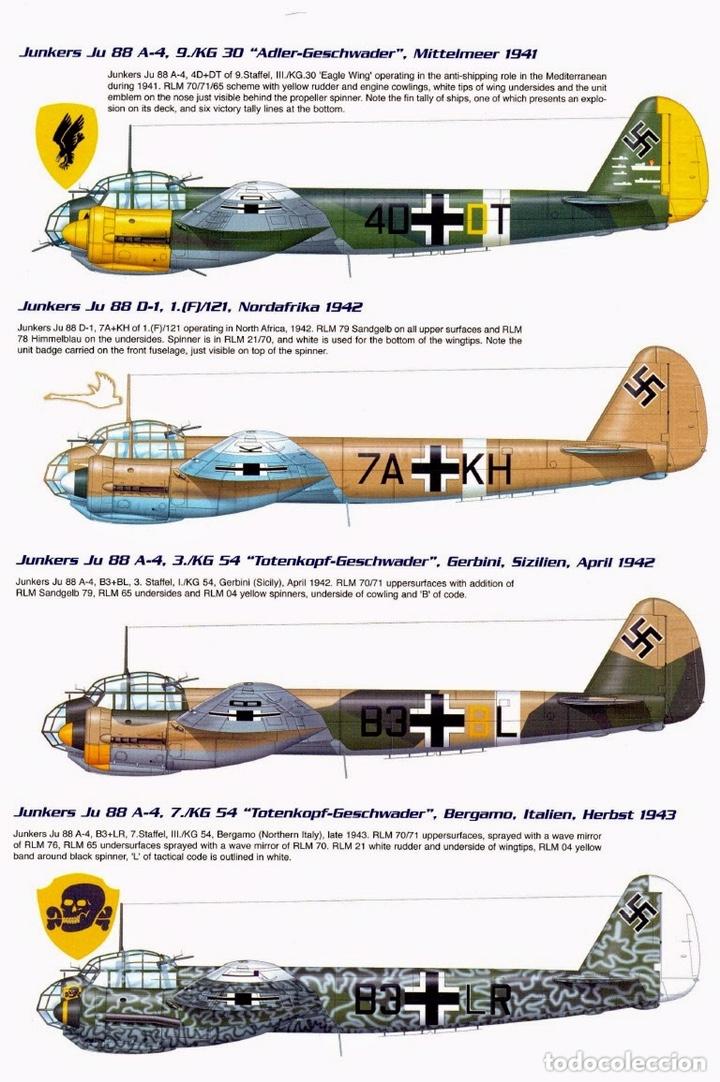 Maquetas: JUNKERS Ju-88 C-6 1:72 ITALERI 1022 maqueta avión Sicilia Ucrania - Foto 5 - 172936215