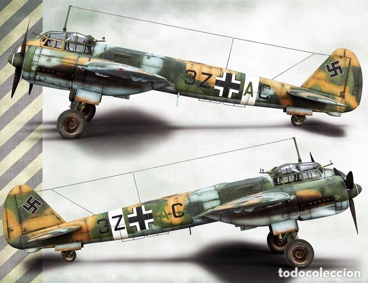 Maquetas: JUNKERS Ju-88 C-6 1:72 ITALERI 1022 maqueta avión Sicilia Ucrania - Foto 6 - 172936215