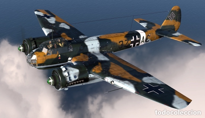 Maquetas: JUNKERS Ju-88 C-6 1:72 ITALERI 1022 maqueta avión Sicilia Ucrania - Foto 13 - 172936215