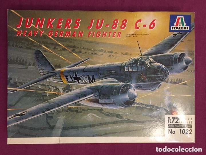 JUNKERS JU-88 C-6 1:72 ITALERI 1022 MAQUETA AVIÓN SICILIA UCRANIA (Juguetes - Modelismo y Radio Control - Maquetas - Aviones y Helicópteros)