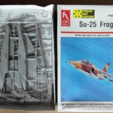 Maquetas: MAQUETA AVION DE ATAQUE RUSO - HOBBYCRAFT SU-25 FROGFOOT IRAQI AIR FORCE 1/72. Lote 172939590