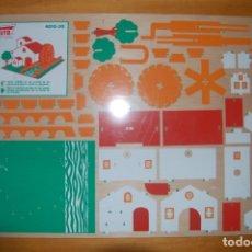 Maquetas: PANEL DE MARQUETERÍA WUTO. Lote 172962804