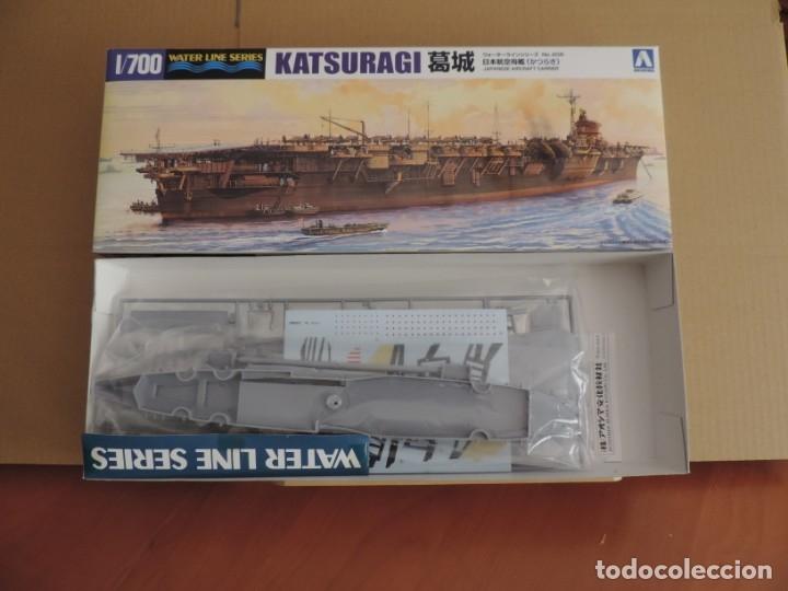 MAQUETA - AOSHIMA PORTAAVIONES KATSURAGI 1/700 (Juguetes - Modelismo y Radiocontrol - Maquetas - Barcos)
