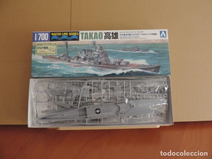 MAQUETA - AOSHIMA CRUCERO PESADO JAPONES TAKAO 1944 1/700 (Juguetes - Modelismo y Radiocontrol - Maquetas - Barcos)