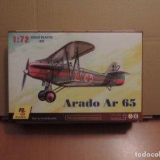 Maquetas: LOTE DE 7 MAQUETAS - 1 RS MODELS 92018 ARADO AR 65 (BULGARIA, ALEMANIA) 1/72 + (6 ZTS SIN CAJA). Lote 173209447