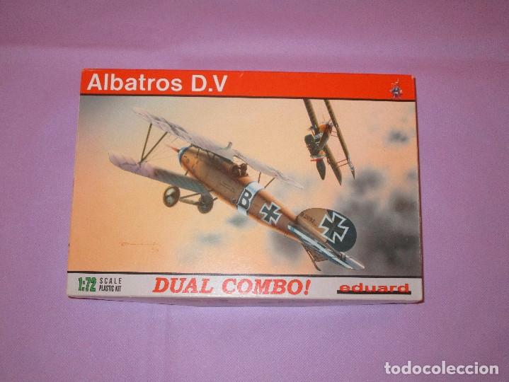 Maquetas: ALBATROS D.V - DUAL COMBO ! - 1:72 SCALE PLASTIC KIT - EDUARD - 7021 - Foto 9 - 173219875