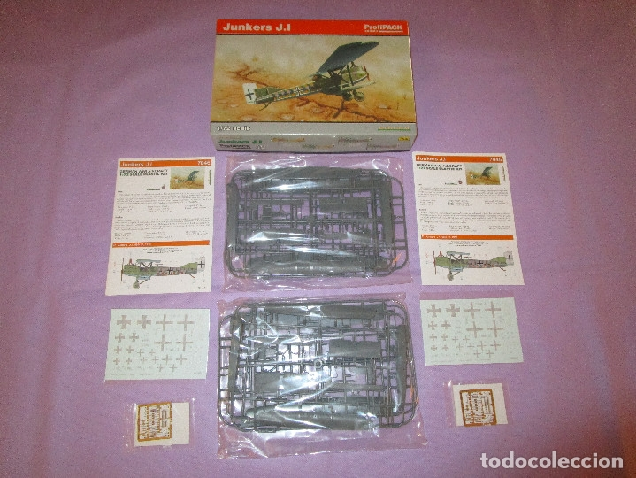 Maquetas: JUNKERS J.I (2 UDS.?) - PROFIPACK EDITION - 1/72 SCALE - EDUARD - 7046 (X 2 ?) - Foto 1 - 173235472