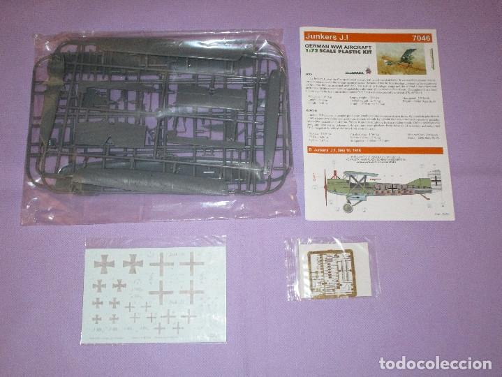 Maquetas: JUNKERS J.I (2 UDS.?) - PROFIPACK EDITION - 1/72 SCALE - EDUARD - 7046 (X 2 ?) - Foto 2 - 173235472