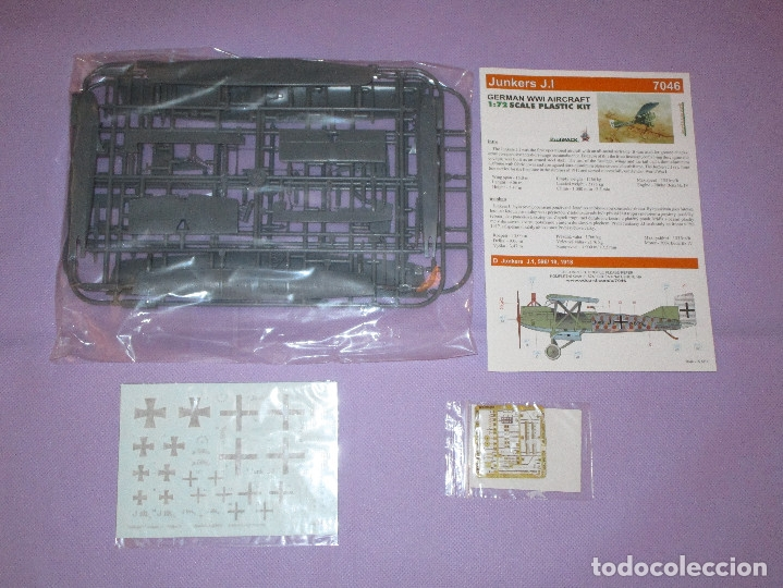 Maquetas: JUNKERS J.I (2 UDS.?) - PROFIPACK EDITION - 1/72 SCALE - EDUARD - 7046 (X 2 ?) - Foto 4 - 173235472