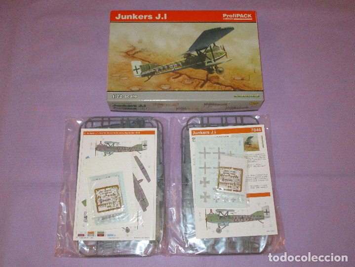 Maquetas: JUNKERS J.I (2 UDS.?) - PROFIPACK EDITION - 1/72 SCALE - EDUARD - 7046 (X 2 ?) - Foto 6 - 173235472