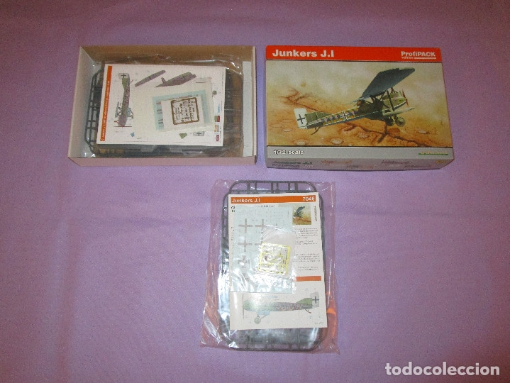 Maquetas: JUNKERS J.I (2 UDS.?) - PROFIPACK EDITION - 1/72 SCALE - EDUARD - 7046 (X 2 ?) - Foto 7 - 173235472