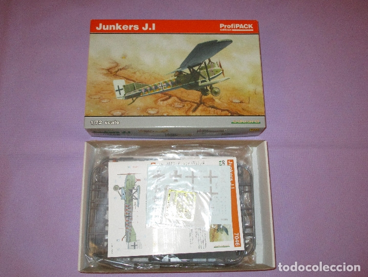 Maquetas: JUNKERS J.I (2 UDS.?) - PROFIPACK EDITION - 1/72 SCALE - EDUARD - 7046 (X 2 ?) - Foto 8 - 173235472