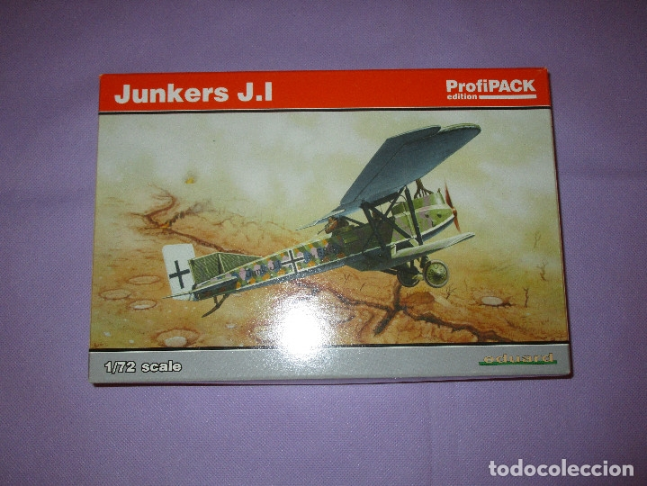 Maquetas: JUNKERS J.I (2 UDS.?) - PROFIPACK EDITION - 1/72 SCALE - EDUARD - 7046 (X 2 ?) - Foto 9 - 173235472