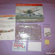 Maquetas: SPAD XIII LATE VERSION - 1:72 SCALE PLASTIC KIT - EDUARD - 7053 - PROFIPACK. Lote 173285857