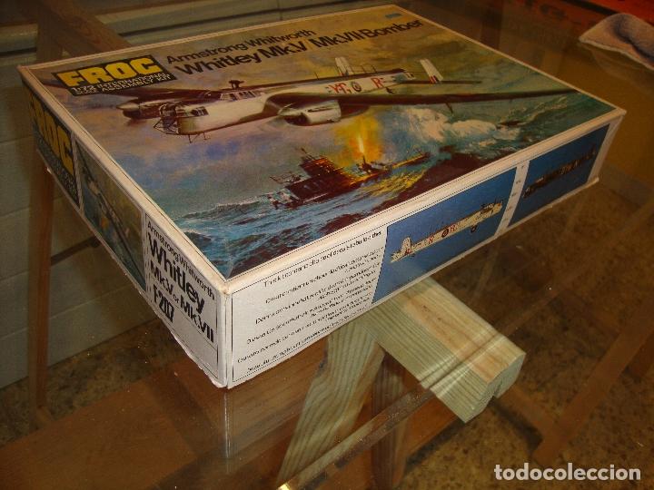 Maquetas: MAQUETA WHITLEY MK V MK VII BOMBER ESCALA 1:72 FOG - Foto 2 - 173454942
