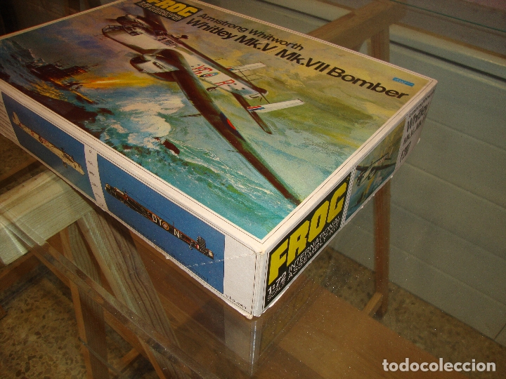 Maquetas: MAQUETA WHITLEY MK V MK VII BOMBER ESCALA 1:72 FOG - Foto 3 - 173454942