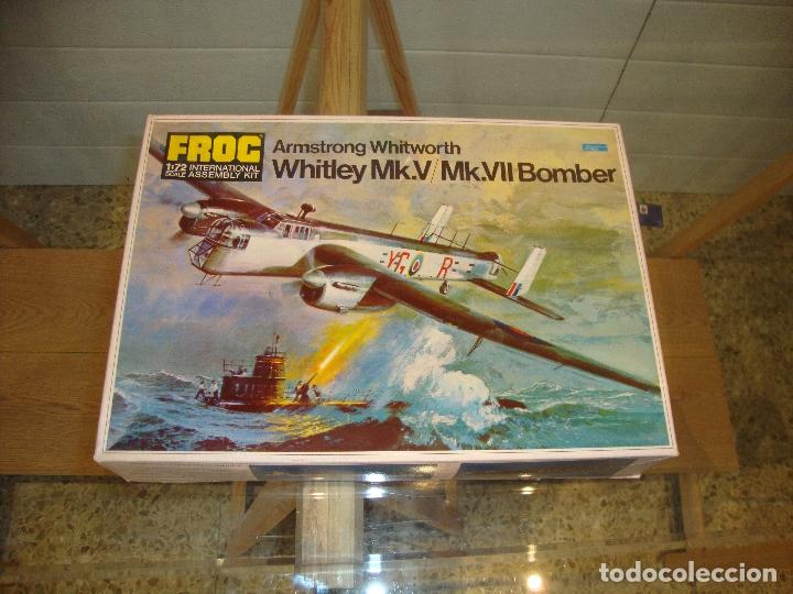 MAQUETA WHITLEY MK V MK VII BOMBER ESCALA 1:72 FOG (Juguetes - Modelismo y Radio Control - Maquetas - Aviones y Helicópteros)