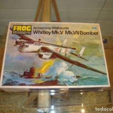 Maquetas: MAQUETA WHITLEY MK V MK VII BOMBER ESCALA 1:72 FOG. Lote 173454942