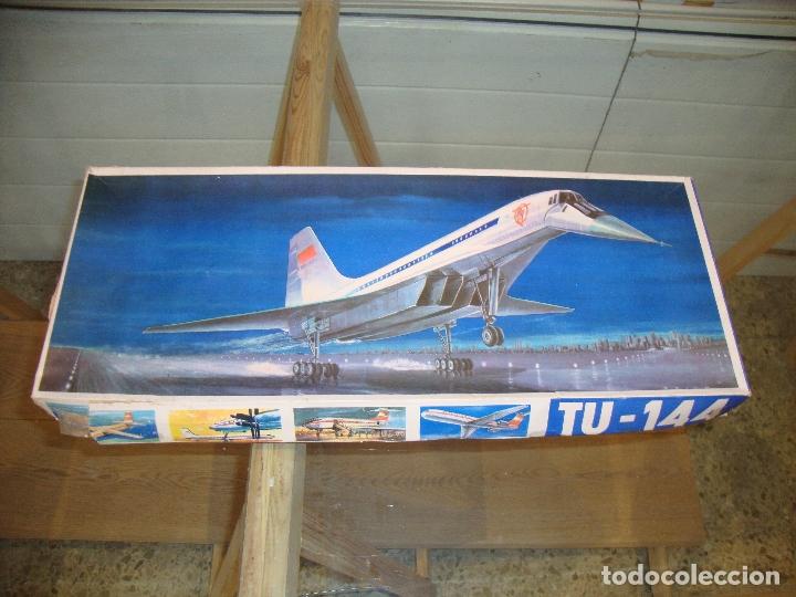 MAQUETA TU 144 (Juguetes - Modelismo y Radio Control - Maquetas - Aviones y Helicópteros)