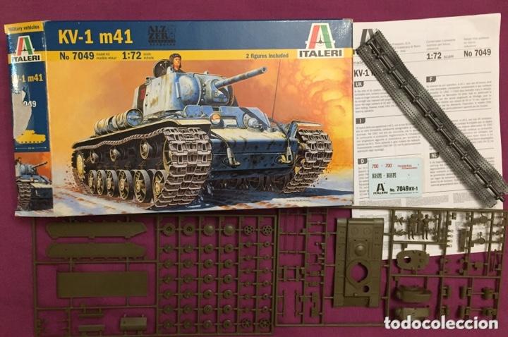 Maquetas: KV-1 m41 1:72 ITALERI 7049 maqueta carro - Foto 3 - 173488074