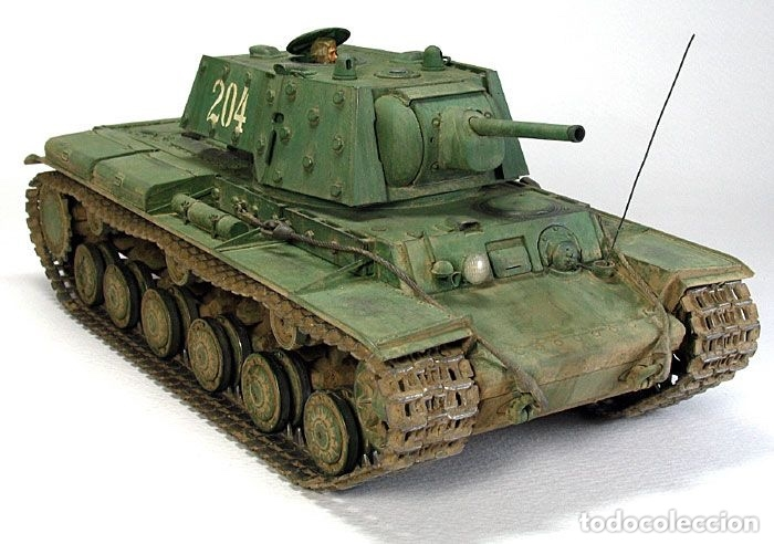 Maquetas: KV-1 m41 1:72 ITALERI 7049 maqueta carro - Foto 7 - 173488074