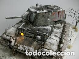 Maquetas: KV-1 m41 1:72 ITALERI 7049 maqueta carro - Foto 12 - 173488074
