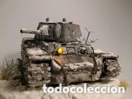 Maquetas: KV-1 m41 1:72 ITALERI 7049 maqueta carro - Foto 13 - 173488074