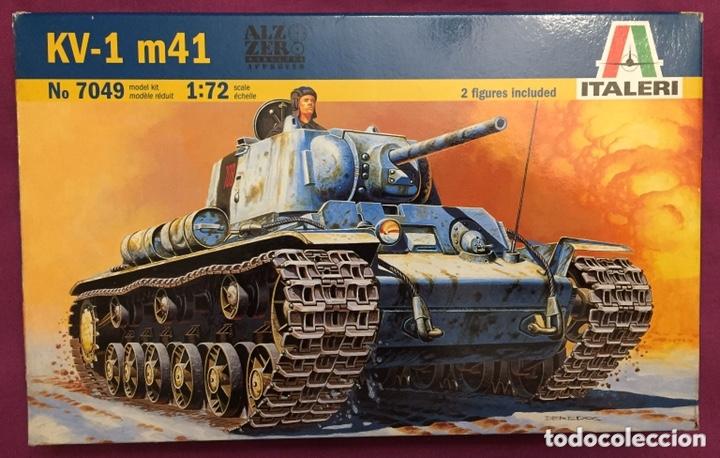 KV-1 M41 1:72 ITALERI 7049 MAQUETA CARRO (Juguetes - Modelismo y Radiocontrol - Maquetas - Militar)