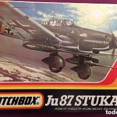 Maquetas: JUNKERS JU-87 STUKA D.3 G.1 1:72 MATCHBOX 40111 MAQUETA AVIÓN CAZACARROS. Lote 173497343