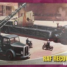 Maquetas: RAF RECOVERY SET 1:76 AIRFIX 03305 MAQUETA AVIÓN DIORAMA 1:72 EQUIPO RECUPERACIÓN. Lote 173504107