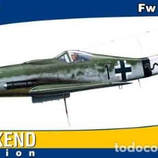 Maquetas: MAQUETA DEL CAZA ALEMÁN FOCKE WULF FW 190D-9 DEL JG 26 DE EDUARD A 1/48. Lote 173526103
