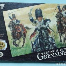 Maquetas: HAT - FRENCH HORSE GRENADIERS REF 8013 1/72 TIPO MONTAMAN MAQUETA MILITAR. Lote 173536537