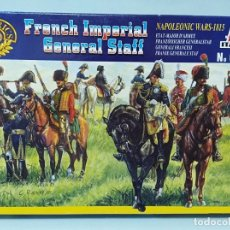 Maquetas: ITALERI - FRENCH IMPERIAL GENERAL STAFF NAPOLEONIC WARS 1815 REF 6016 TIPO MONTAMAN MAQUETA MILITAR. Lote 173536673